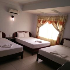 Hue Valentine Hotel 2* Стандартный семейный номер с двуспальной кроватью фото 2