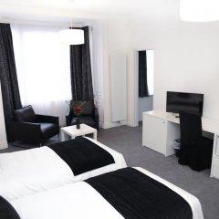 Отель Hôtel Satellite Улучшенный номер с 2 отдельными кроватями фото 4
