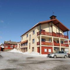 Отель Lillehammer Fjellstue парковка