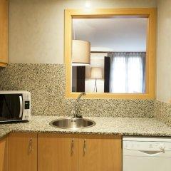 Апартаменты Aspasios Plaza Real Apartments Студия с различными типами кроватей