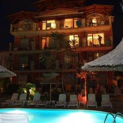 Отель Family hotel Tropicana Болгария, Равда - отзывы, цены и фото номеров - забронировать отель Family hotel Tropicana онлайн бассейн фото 2