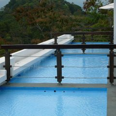 Отель Gaia Hotel And Reserve - Adults Only Коста-Рика, Кепос - отзывы, цены и фото номеров - забронировать отель Gaia Hotel And Reserve - Adults Only онлайн бассейн фото 2