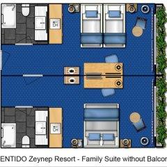 Zeynep Hotel 5* Люкс с различными типами кроватей фото 3