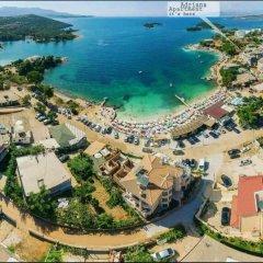 Отель Adriana Албания, Ксамил - отзывы, цены и фото номеров - забронировать отель Adriana онлайн пляж фото 2