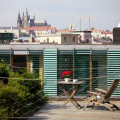 Апартаменты Langhans Apartments Прага балкон