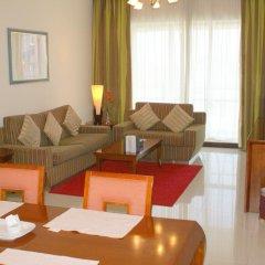Star Metro Deira Hotel Apartments 4* Люкс с различными типами кроватей фото 6