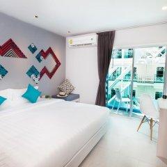 Отель The Crib Patong 3* Улучшенный номер с двуспальной кроватью фото 4