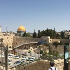 Jerusalem Hostel балкон