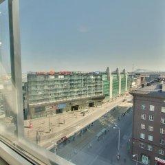 Апартаменты Daily Apartments Viru Penthouse Таллин балкон