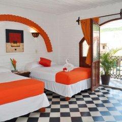 Hotel Hacienda de Vallarta Centro 3* Стандартный номер с различными типами кроватей фото 4