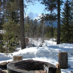 Отель Mica Mountain Lodge & Log Cabins фото 12