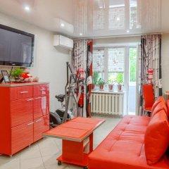 Апартаменты Red Bus Apartment na Mira комната для гостей фото 2