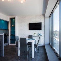 Отель EXCLUSIVE Aparthotel Улучшенные апартаменты с различными типами кроватей