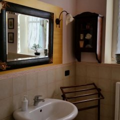 Отель B&b Cervare Монтелупоне ванная