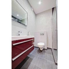 Отель Apartament Nowe Winogrady Польша, Познань - отзывы, цены и фото номеров - забронировать отель Apartament Nowe Winogrady онлайн ванная фото 2