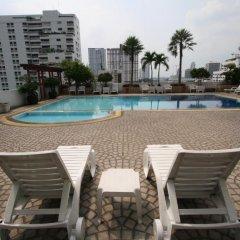 Отель Baiyoke Suite Hotel Таиланд, Бангкок - 3 отзыва об отеле, цены и фото номеров - забронировать отель Baiyoke Suite Hotel онлайн бассейн фото 3