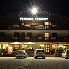 Отель Pension Garni Transit Випитено парковка