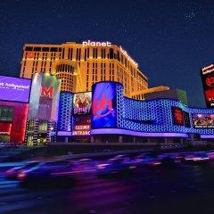 Отель Planet Hollywood Resort & Casino 4* Семейный номер Делюкс с двуспальной кроватью фото 4