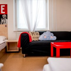 Hostel Florenc Кровать в женском общем номере с двухъярусной кроватью фото 3