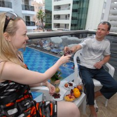 Oba Star Hotel & Spa - All Inclusive 3* Стандартный номер с различными типами кроватей