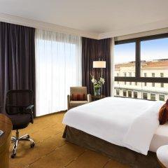 Отель Warwick Geneva 4* Улучшенный номер с различными типами кроватей