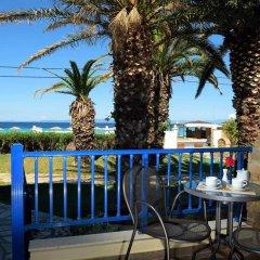 Отель Antigoni Beach Resort 4* Стандартный номер с различными типами кроватей фото 13