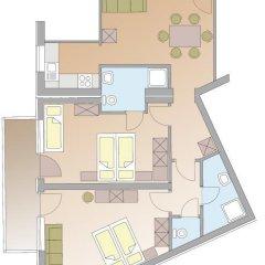Hotel Garni Fiegl Apart 3* Стандартный номер фото 15