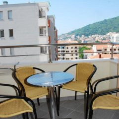 Апартаменты Azzuro Lux Apartments Улучшенные апартаменты с различными типами кроватей фото 9