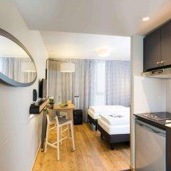 Отель Adagio access München City Olympiapark 3* Студия с различными типами кроватей фото 3