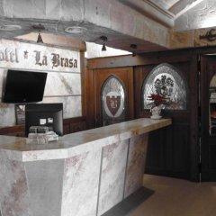 Hotel La Brasa интерьер отеля