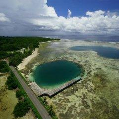 Отель Kosrae Nautilus Resort Федеративные Штаты Микронезии, Косраэ - отзывы, цены и фото номеров - забронировать отель Kosrae Nautilus Resort онлайн пляж фото 2