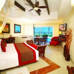Отель Hilton Playa Del Carmen 5* Полулюкс с различными типами кроватей фото 2