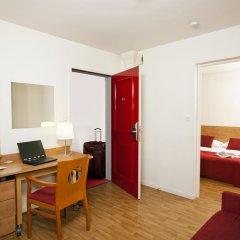 Отель Séjours & Affaires Rennes Villa Camilla 2* Студия с различными типами кроватей фото 4