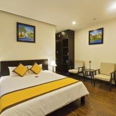 Hai Au Boutique Hotel & Spa 3* Номер Делюкс с двуспальной кроватью фото 15