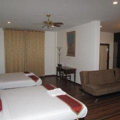 Отель QG Resort 3* Семейный номер Делюкс с двуспальной кроватью фото 9