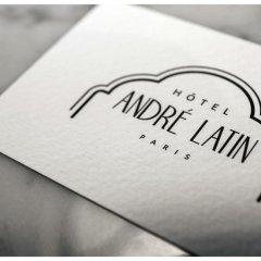 Hotel Andre Latin удобства в номере