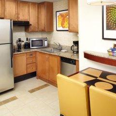 Отель Residence Inn by Marriott Columbus Downtown 3* Люкс с различными типами кроватей фото 3