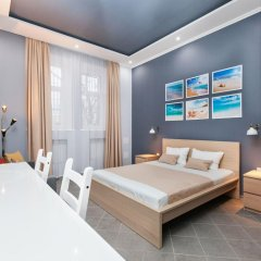 Мини-Отель Брусника Полежаевская Стандартный номер с различными типами кроватей фото 19
