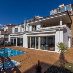 Отель Agi las Acacias Испания, Курорт Росес - отзывы, цены и фото номеров - забронировать отель Agi las Acacias онлайн бассейн
