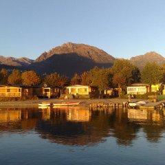 Отель Sunwaychalets Lago di Lugano Порлецца приотельная территория фото 2