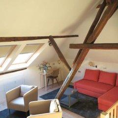 Отель B&B Den Witten Leeuw 3* Стандартный семейный номер с двуспальной кроватью фото 10