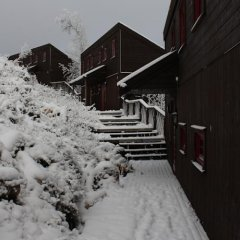 Отель Kvitfjell Alpinhytter интерьер отеля