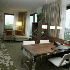 Отель Meliá Düsseldorf 4* Люкс разные типы кроватей фото 13