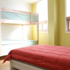 Отель Patio 59 Hongdae Guesthouse 2* Стандартный номер с различными типами кроватей