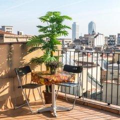 Отель HHB Испания, Барселона - отзывы, цены и фото номеров - забронировать отель HHB онлайн балкон