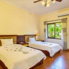 Отель Agribank Hoi An Beach Resort 3* Улучшенный номер с различными типами кроватей фото 5