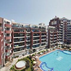 Отель Admiral Plaza Holiday Apartments Болгария, Солнечный берег - отзывы, цены и фото номеров - забронировать отель Admiral Plaza Holiday Apartments онлайн балкон