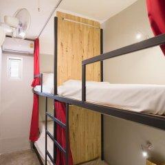 Homie Hostel & Cafe' 2* Кровать в общем номере фото 7