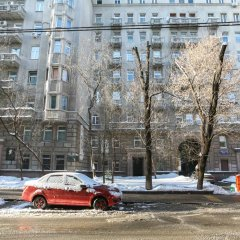 Апартаменты Four Squares Apartments on Tverskaya парковка
