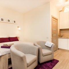 Отель Apartamentai 555 Литва, Вильнюс - отзывы, цены и фото номеров - забронировать отель Apartamentai 555 онлайн комната для гостей фото 3